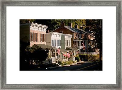 Historic Oella Maryland Framed Print by Geoffrey Baker