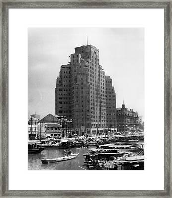 Historic Shanghai Framed Print by Retro Images Archive