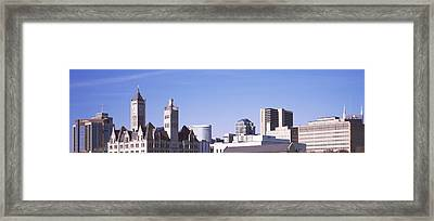 Historic Union Station Hotel Framed Print by Panoramic Images