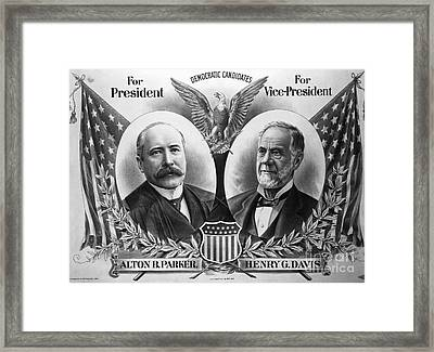 Historical 20st Century People Black And White Artwork 120 Framed Print by Boon Mee