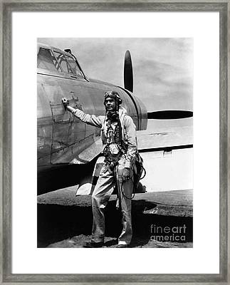 Historical 20st Century People Black And White Artwork 126 Framed Print by Boon Mee