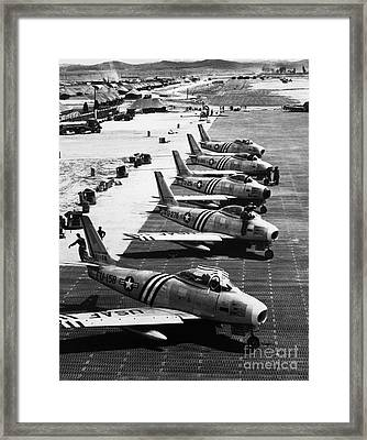 Historical 20st Century People Black And White Artwork 149 Framed Print by Boon Mee