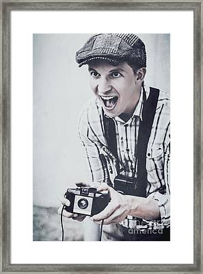 History In Photo Journalism Framed Print by Jorgo Photography - Wall Art Gallery