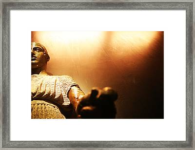 History Framed Print by Lucy D