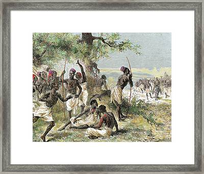 History Of Africa Framed Print by Prisma Archivo