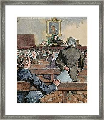 History Of England Framed Print by Prisma Archivo