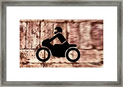 Hit The Bricks Framed Print by Henry Kowalski