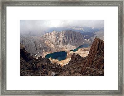 Hitchcock Lakes Framed Print by Baywest Imaging