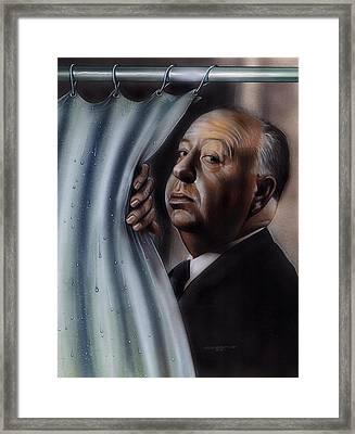 Hitchcock Framed Print by Tim  Scoggins