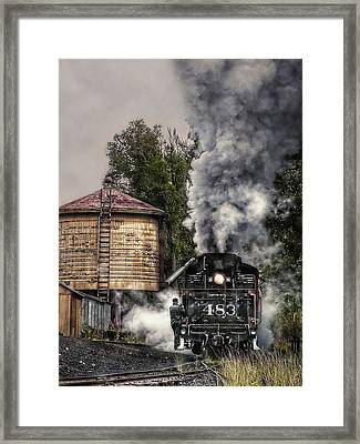 Hitching A Ride Framed Print by Ken Smith