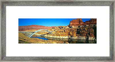 Hite Overlook And Cataract Canyon Framed Print by Panoramic Images