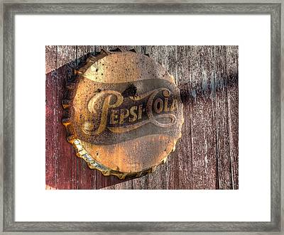 Hits The Spot Framed Print by William Fields