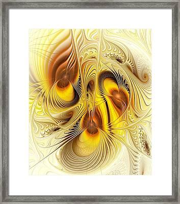 Hive Mind Framed Print by Anastasiya Malakhova