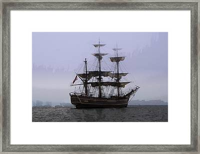 H. M. S. Bounty Framed Print by Daniel Hagerman