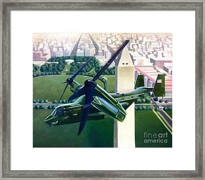 Hmx-1 Mv-22 Framed Print by Stephen Roberson