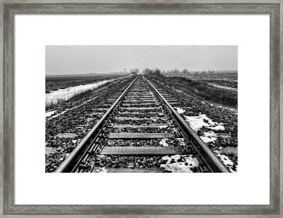 Hobo Highway Framed Print by Jeff Burton