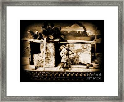 Hobo Framed Print by John Malone