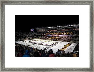 Hockey City Classic Framed Print by Tom Gort