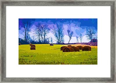 Hocking Hills 10 Framed Print by Brian Stevens