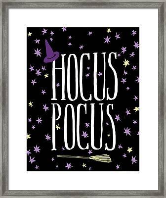 Hocus Pocus Framed Print by Wild Apple Portfolio