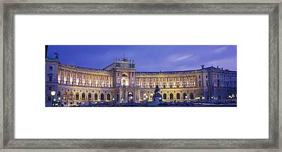 Hofburg Imperial Palace, Heldenplatz Framed Print by Panoramic Images