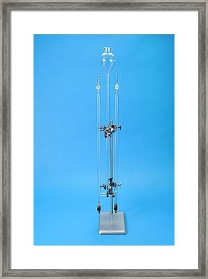 Hofmann Voltameter Framed Print by Trevor Clifford Photography