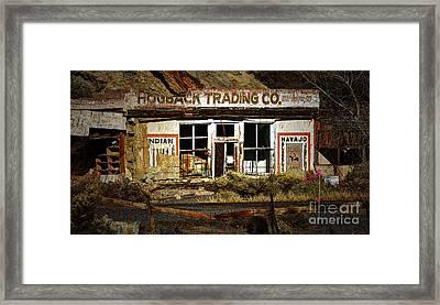 Hogback Trading Company Framed Print by Bob Christopher