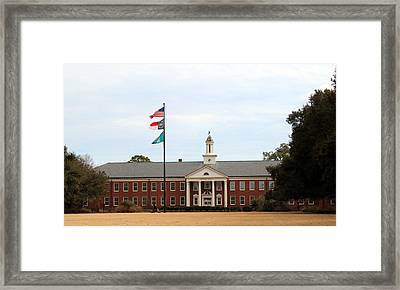 Hoggard Hall Framed Print by Cynthia Guinn