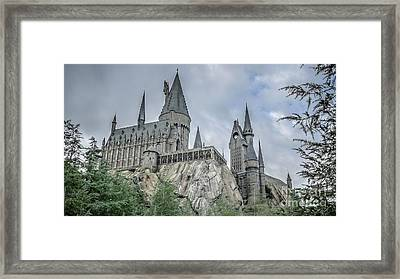 Hogswarts Castle  Framed Print by Edward Fielding