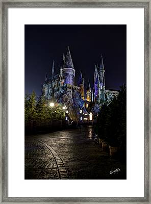 Hogwarts Castle Framed Print by Kevin  Ellis