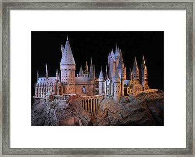 Hogwarts Castle Framed Print by Tanis Crooks