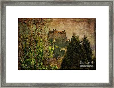 Hogwarts Edinburgh Castle Edinburgh Scotland Framed Print by Lois Bryan