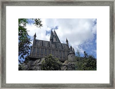 Hogwarts School Framed Print by Richard Reeve