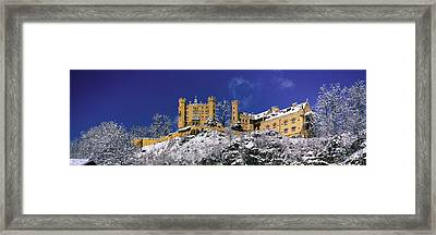 Hohenschwangau Castle Schloss Framed Print by Panoramic Images