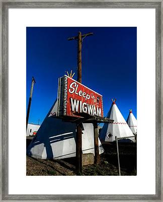 Holbrook Az - Wigwam Motel 015 Framed Print by Lance Vaughn