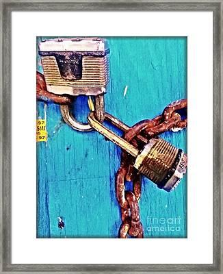 Hold On Tight Framed Print by James Aiken