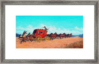 Hold Up Framed Print by Tanja Ware