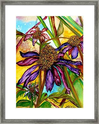 Holding On To Summer Sold Framed Print by Lil Taylor