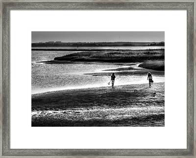 Holding On To Those Years Framed Print by Karen Wiles