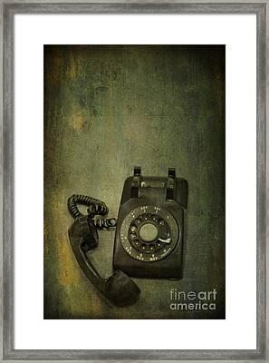 Holding On To Yesterday Framed Print by Evelina Kremsdorf