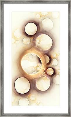 Holes Framed Print by Anastasiya Malakhova