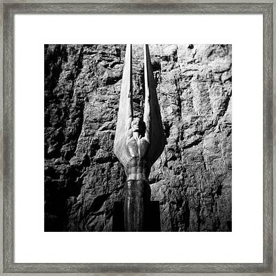 Holga Winged Figures Of The Republic Framed Print by Alex Snay