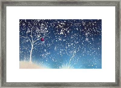 Holiday Card 24 Framed Print by Nelson Ruger