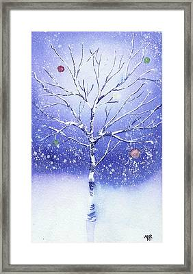 Holiday Card 8 Framed Print by Nelson Ruger