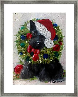 Holiday Framed Print by Mary Sparrow