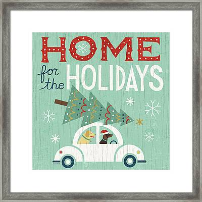 Holiday On Wheels I Framed Print by Michael Mullan