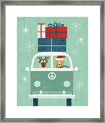 Holiday On Wheels Xii Framed Print by Michael Mullan