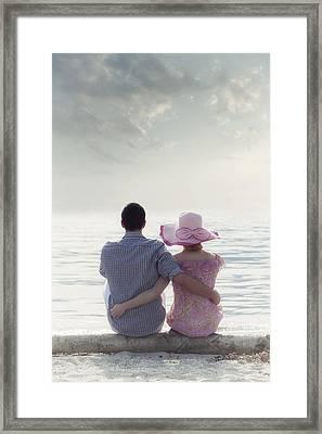 Holiday Romance Framed Print by Joana Kruse