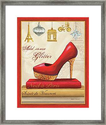 Holiday Sparkle IIi Framed Print by Marco Fabiano