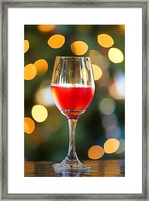 Holiday Spirits Framed Print by Bill Tiepelman
